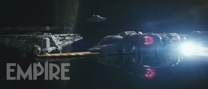 First Look At Poe Dameron's Upgraded X-Wing From Empire Magazine