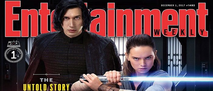 4 New The Last Jedi Covers For Entertainment Weekly