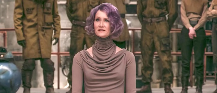 Laura Dern & Oscar Isaac Talk About Amilyn Holdo