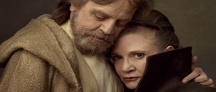 Mark Hamill & Rian Johnson Talk Luke & Leia In The Last Jedi