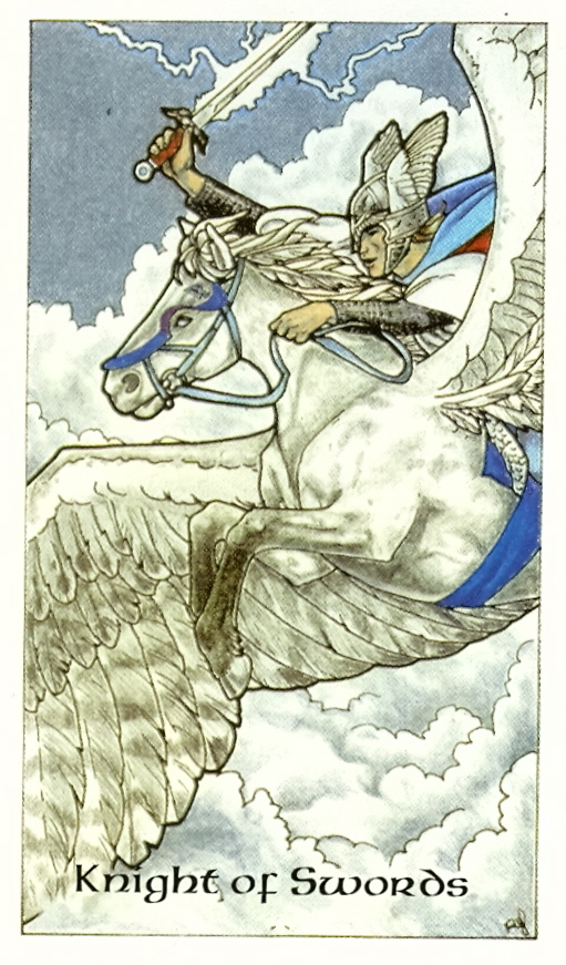 Prince of Swords (Robin Wood Tarot)