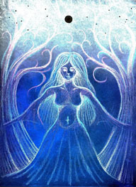 Dark Moon Goddess - Virgo