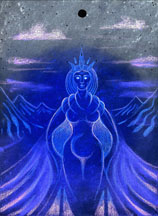Dark Moon Goddess - Capricorn