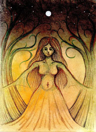 Moon Goddess - Virgo