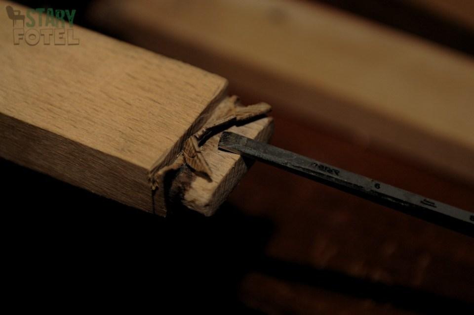 krzesło bumerang, metamorfoza