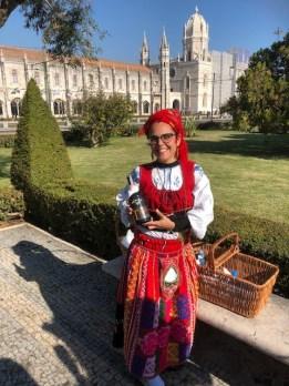 Portuguese lady Lisbon