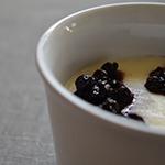 Kasza manna z jagodami