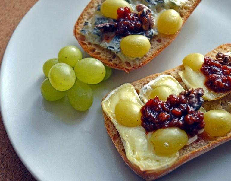 Ciabatta z serem pleśniowym
