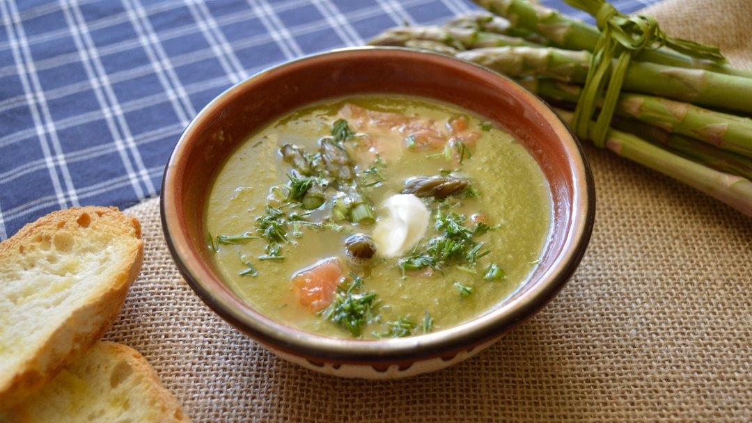 zupa krem ze szpargów