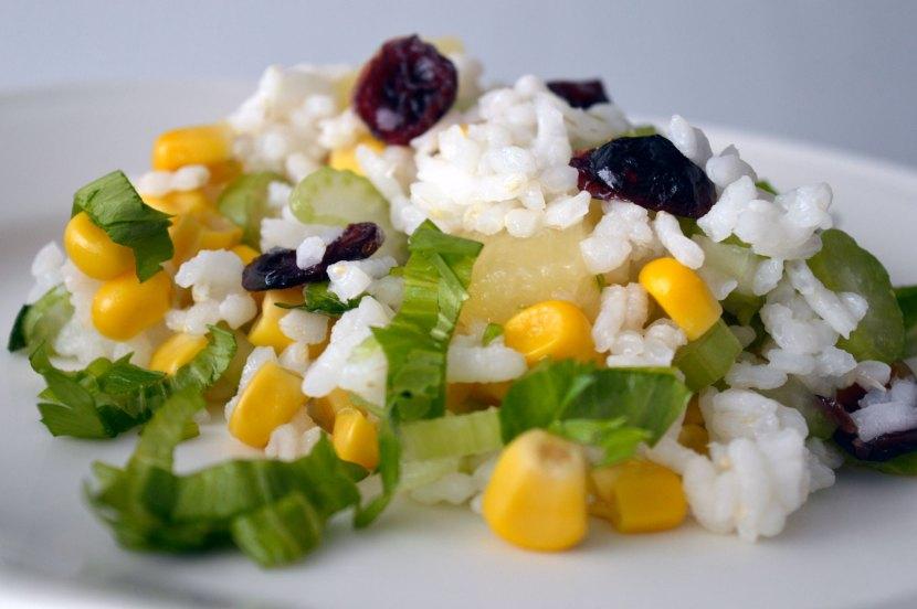 Ryż z selerem naciowym