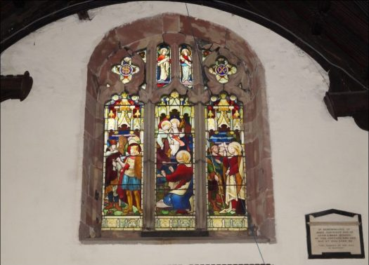 west window in the south nave