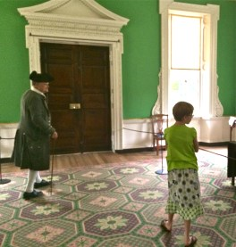 Governor's Palace Green Room in Williamsburg