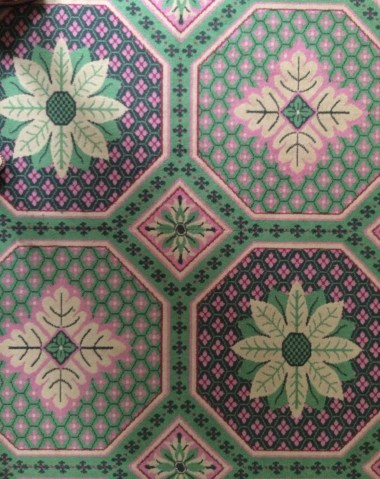 Governor's Palace Carpet Williamsburg, Close Up