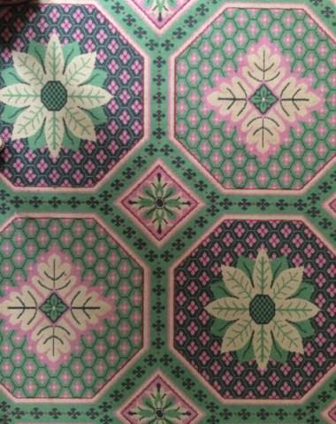 Governor's Palace Carpet Williamsburg, Close Up