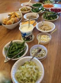 St. Pattie's Day Green Salad Bar