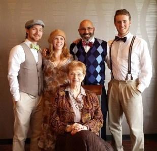 Grandma's 90th Birthday Family shot