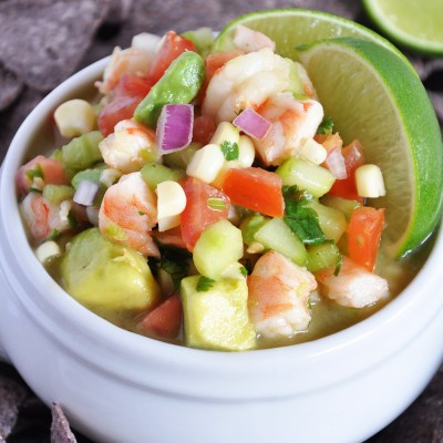 Avocado Shrimp Ceviche