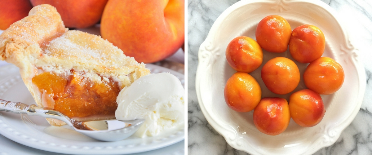 Classic Peach Pie by Stasia Wimmer for HomeandFeast.com