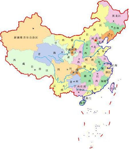 中國地図   りゆ~夢への足跡~