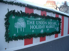 N.Y.に恋して☆-Union square Christmas Market1