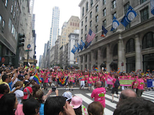 N.Y.に恋して☆-gay parade2
