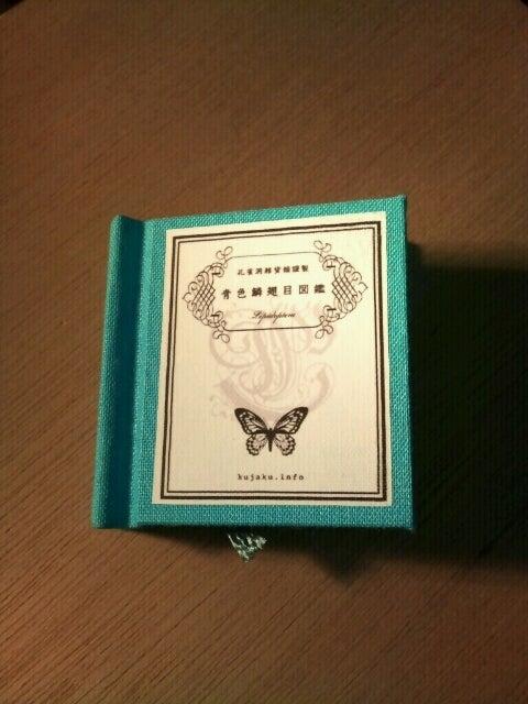 【孔雀洞雑貨舗】謹製新作豆本「青色鱗翅目図鑑」入荷しまし ...