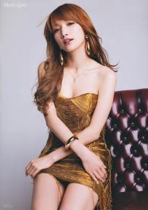 後藤真希さんのファッションモデル画像