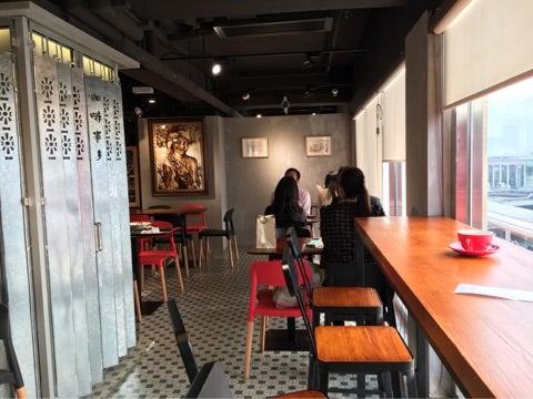 【カフェ】 珈琲事多 Colour Brown   香港でスイーツとカフェ巡り