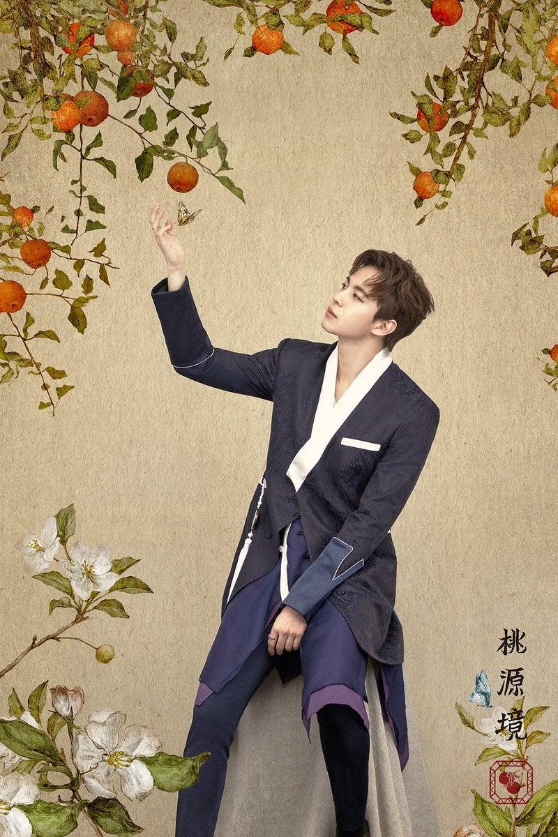 VIXX ホンビン 誕生花(推測) コンセプトフォト 4th MINI ALBUM #桃源境 | VIXX to LOVE