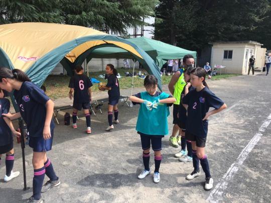 東京少年サッカー応援団 - チームブログ / Odd Person Junior Football Club O.P.J.FC /  0829練習試合祭り -