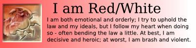 I am Red/White