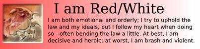I am Red/White
