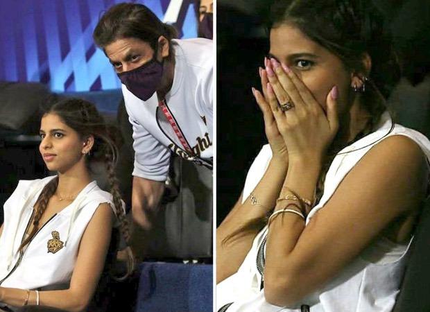 Shah Rukh Khan and Aryan Khan attend another IPL match but Suhana Khan's expressions steal the show as Mumbai Indians crush Kolkata Knight Riders