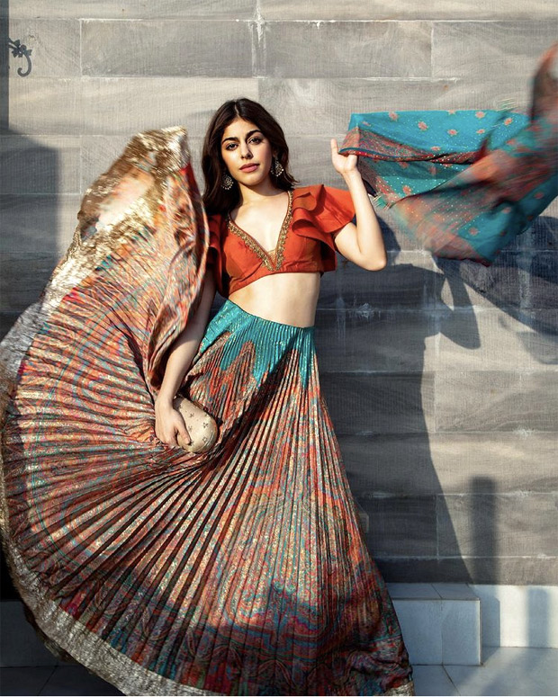 Alaya F's red and jade co-ord ensemble worth Rs. 19,900 is the one you need this wedding seaso