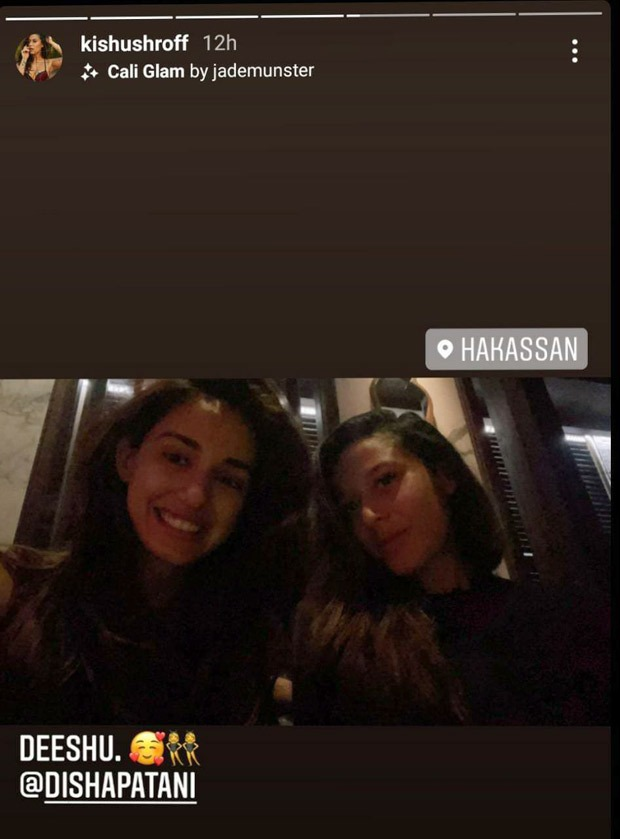 Disha Patani's follows regencycore style from Bridgerton, steps out in maroon corset top for Tiger Shroff's birthday dinner