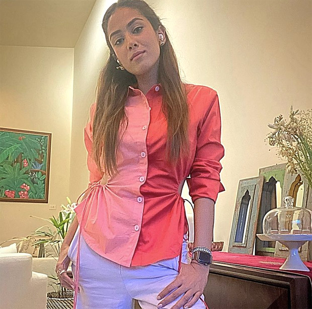 Shahid Kapoor's wife Mira Rajput aces colour blocking with her latest look and it is a must-have in your summer wardrobe : Bollywood News – Bollywood Hungama