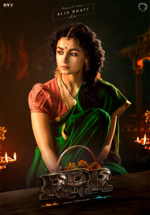 Alia Bhatt looks ethereal as Sita in the first look of SS Rajamouli's RRR