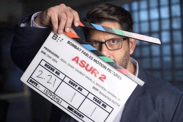 अरशद वारसी ने असुर के सीजन 2 की शूटिंग शुरू की