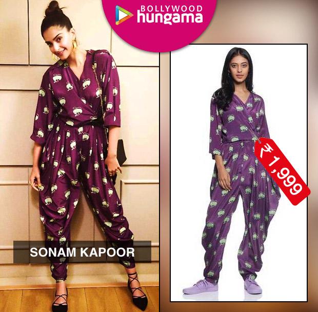 Weekly Celebrity Splurges - Sonam Kapoor