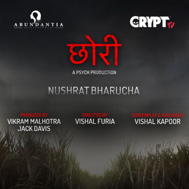 Nushrat Bharucha to star in the hindi remake of the Marathi horror film Lapachhapi titled Chhori