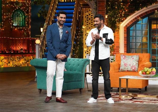 The Kapil Sharma Show: When Ajay Devgn scolded Abhishek Bachchan for blaming Amitabh Bachchan for exposing him to COVID-19