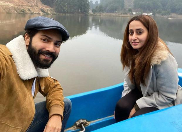 "Varun Dhawan and Natasha Dalal go boating in Uttarakhand, the former says ""Not on a honeymoon"""