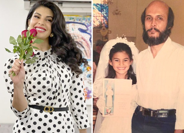 Jacqueline Fernandez childhood photos with her father shares on birthday