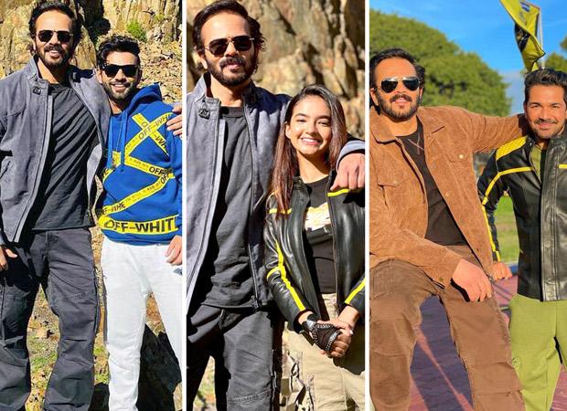 Khatron Ke Khiladi 11: Rahul Vaidya, Anushka Sen and Abhinav Shukla share candid moments with 'boss man' Rohit Shetty