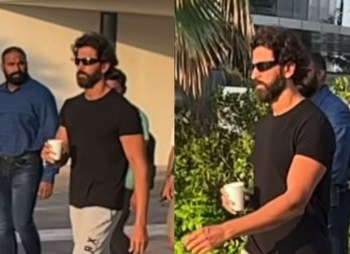 """""""A new first day today"""" – says Hrithik Roshan as he starts shooting for Vikram Vedha on Dusshera : Bollywood News – Bollywood Hungama"""