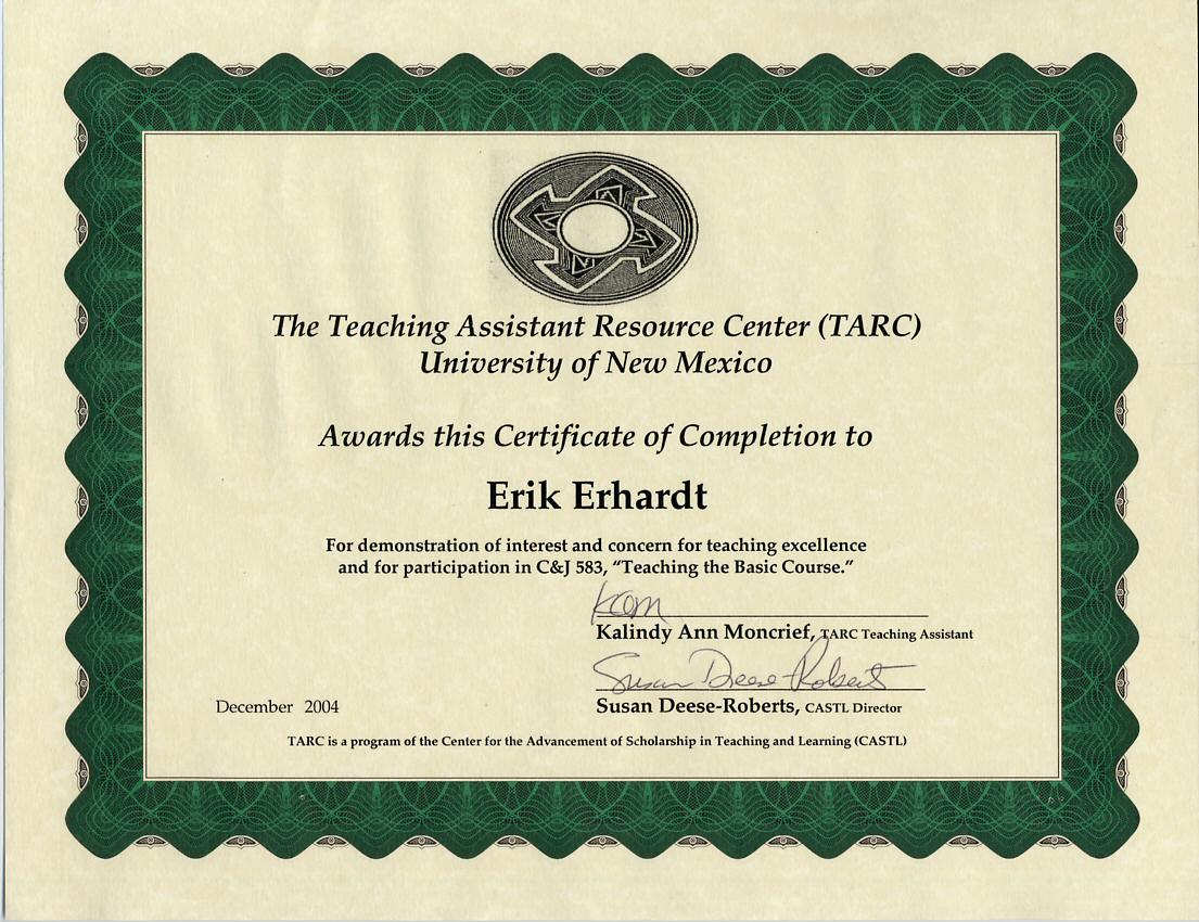 Unm Teaching Assistant Resource Center Tarc
