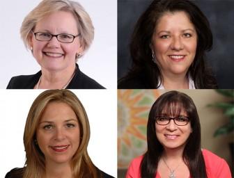 CREW NJ Panel, Clockwise: Nitsch, Hardt, Gonchar, Brennan