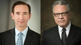 Matthew Harding, president and COO, left, and William Farber, CEO, Levin Management Corporation