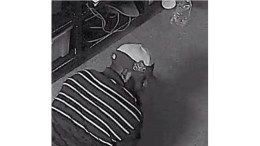 Surveillance photo of burglary suspect (Evesham Township Police Photo)