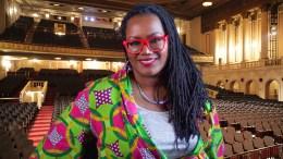 Taneshia Nash Laird, CEO of Newark Symphony Hall (Photo composite/StateBroadcastNews.com)